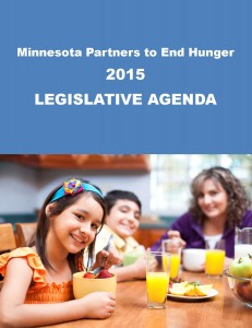 Standing up for hungry Minnesotans at the Capitol