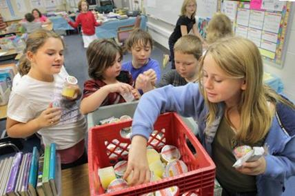 """""""When kids don't have breakfast, or they haven't had a meal for a long time, they don't have enough fuel to actually get the brain going."""" -Chrisa Arcan, University of Minnesota medical school."""
