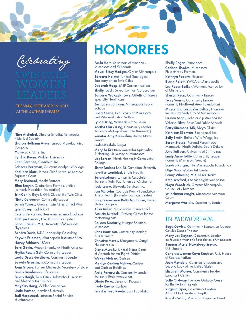 GFF Women Leaders Fact Sheets and Honorees Sept 2014_Page_1